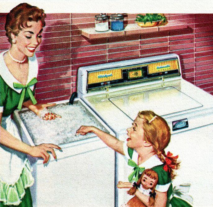 Whirlpool Washer - 1954