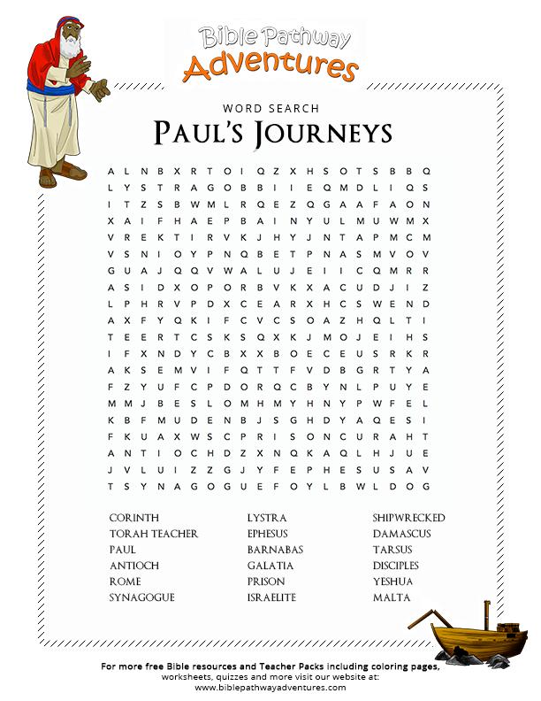 Paul the Apostle – Bible Pathway Adventures