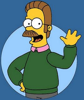 The Friendly Neighbor Ned Flanders Simpsons Characters Ned