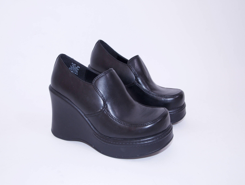 8bb4e07a969 killer 90s CANDIES black vegan platform shoes 90s style 90s clothing 90s  shoes grunge goth women s