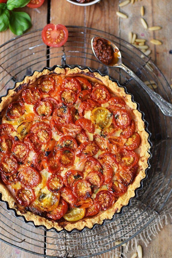 Photo of Crostata Di Parmigiano Al Pomodoro – Crostata Di Parmigiano Al Pomodoro