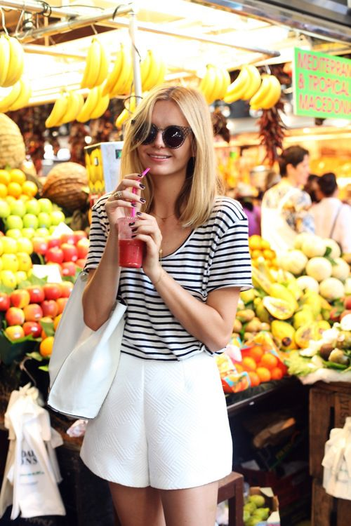 Smoothie +Stripe time. Yes to that.