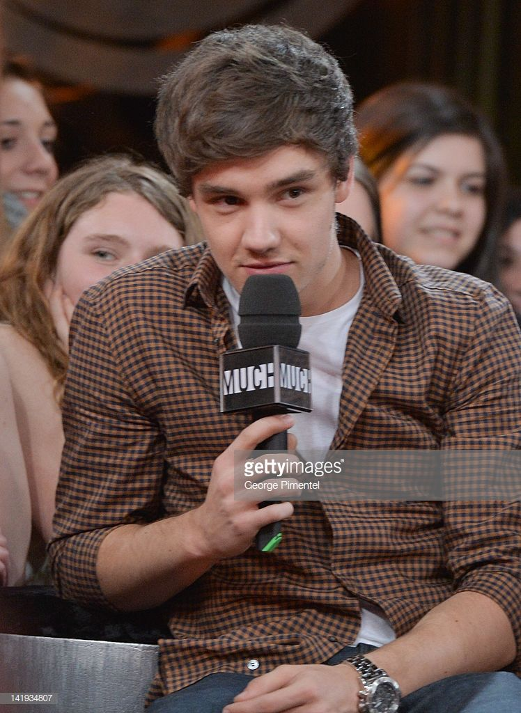 News Photo : Liam Payne from One Direction Visit MuchMusic on... #liampayne