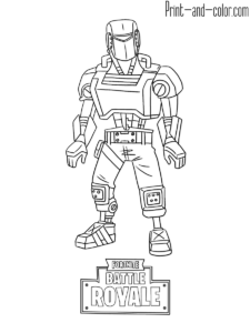 fortnite coloring pages fortnite color