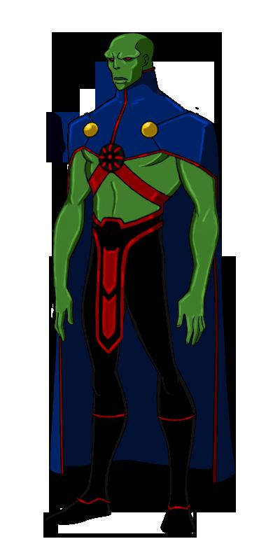 Dc New 52 Martian Manhunter Animated By Kyomusha On Deviantart Martian Manhunter The Martian Justice League Doom