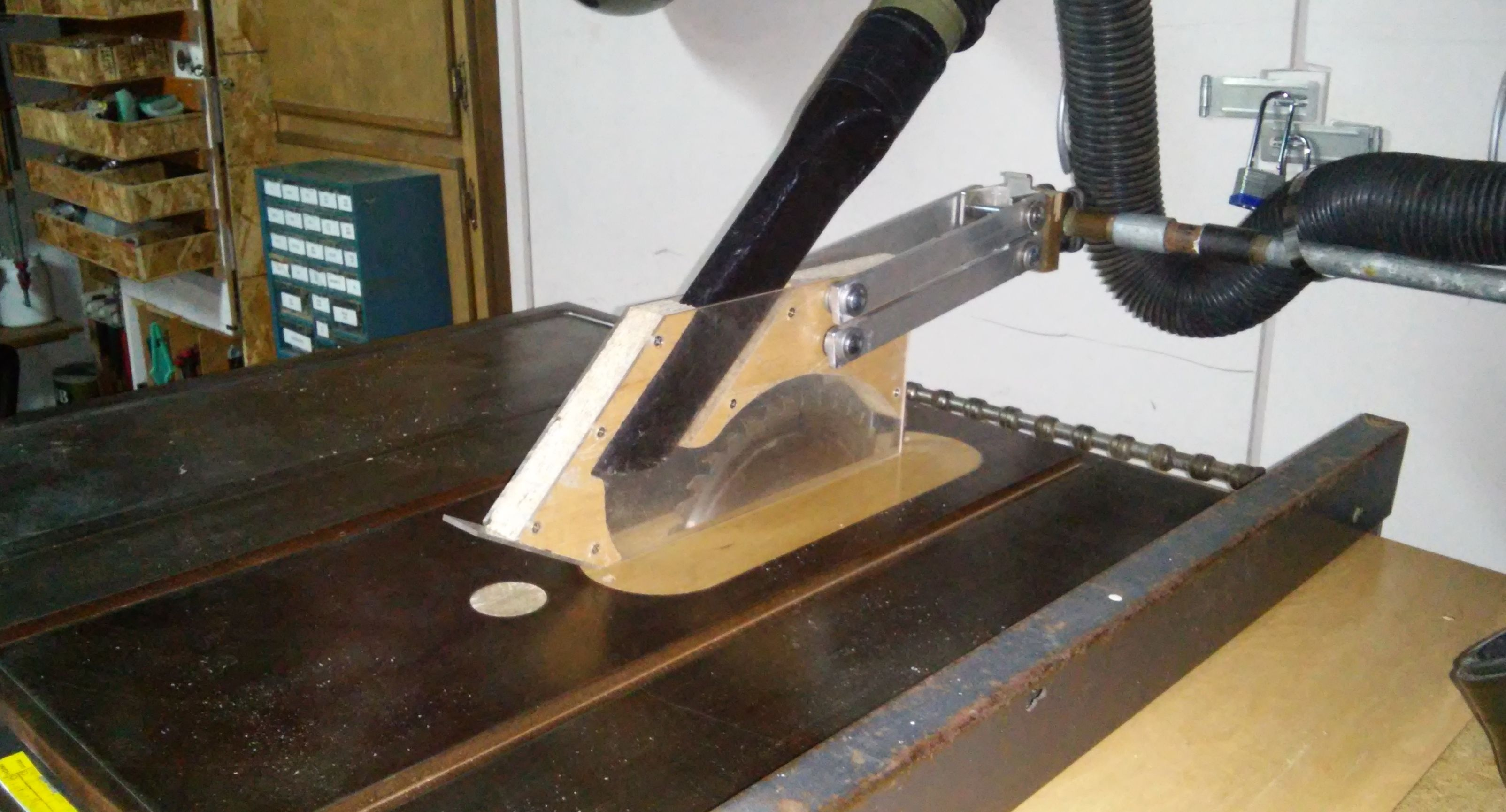 Table Saw Blade Guard Dust Collection Table Saw Blades Dust Collection Woodworking Plans