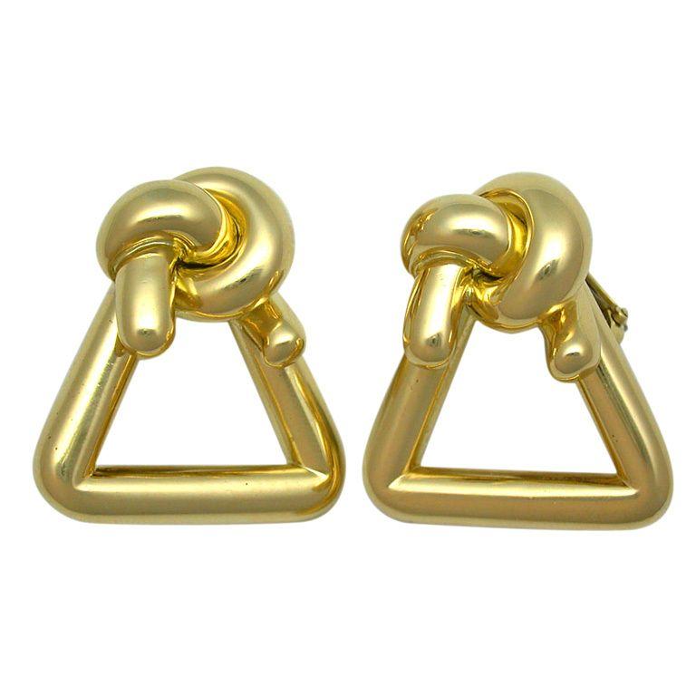 Ear clips vintage 70 /' s vintage jewelry