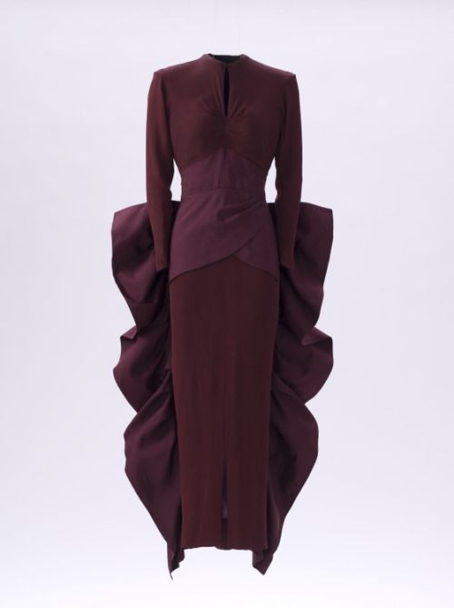 Evening Dress Gilbert Adrian, 1948 The Los Angeles County Museum of ...