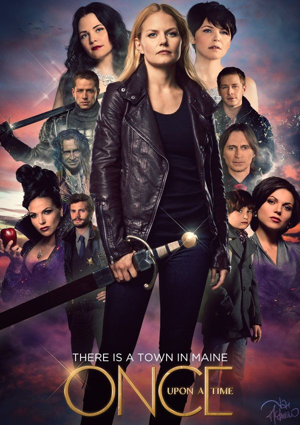 Once Upon A Time season 1 poster © Jai McFerran (avec images ...