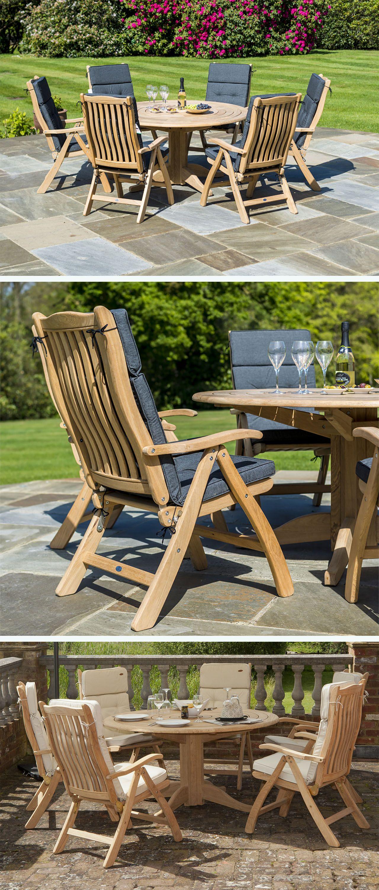 Sedia in legno Ascot di Alexander Rose pieghevole | Arredo ...