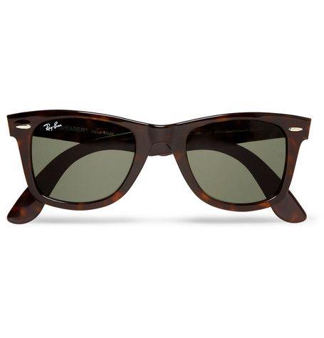 Tortoiseshell Original Wayfarer Acetate Sunglasses Ray Ban Mens Fashion Summer Ray Ban Original Wayfarer Mens Fashion