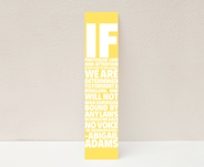 bookmarks to sell at next exhibition...what a great idea!