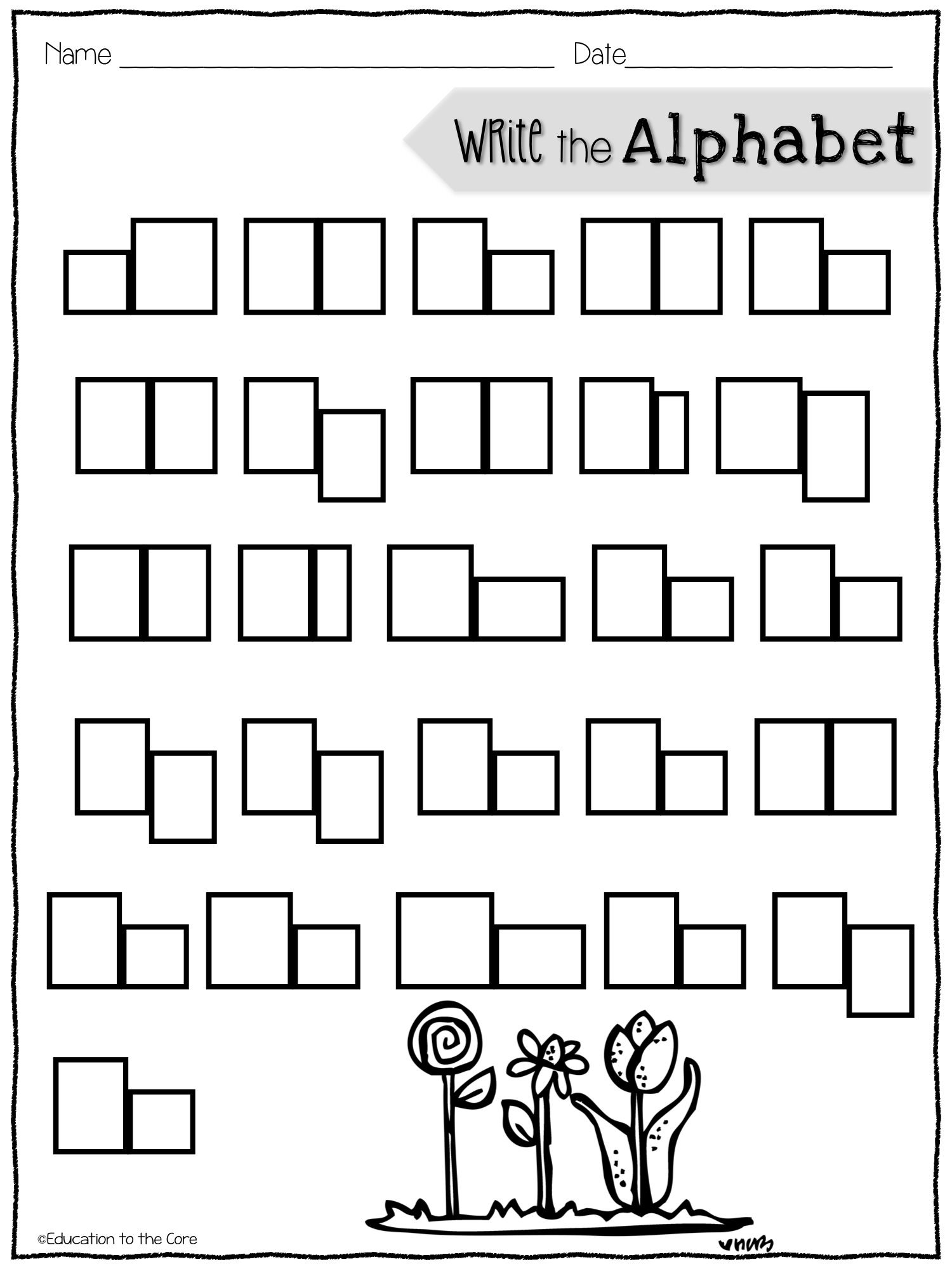 box letter alphabet printables and a special freebie top teachers 52676