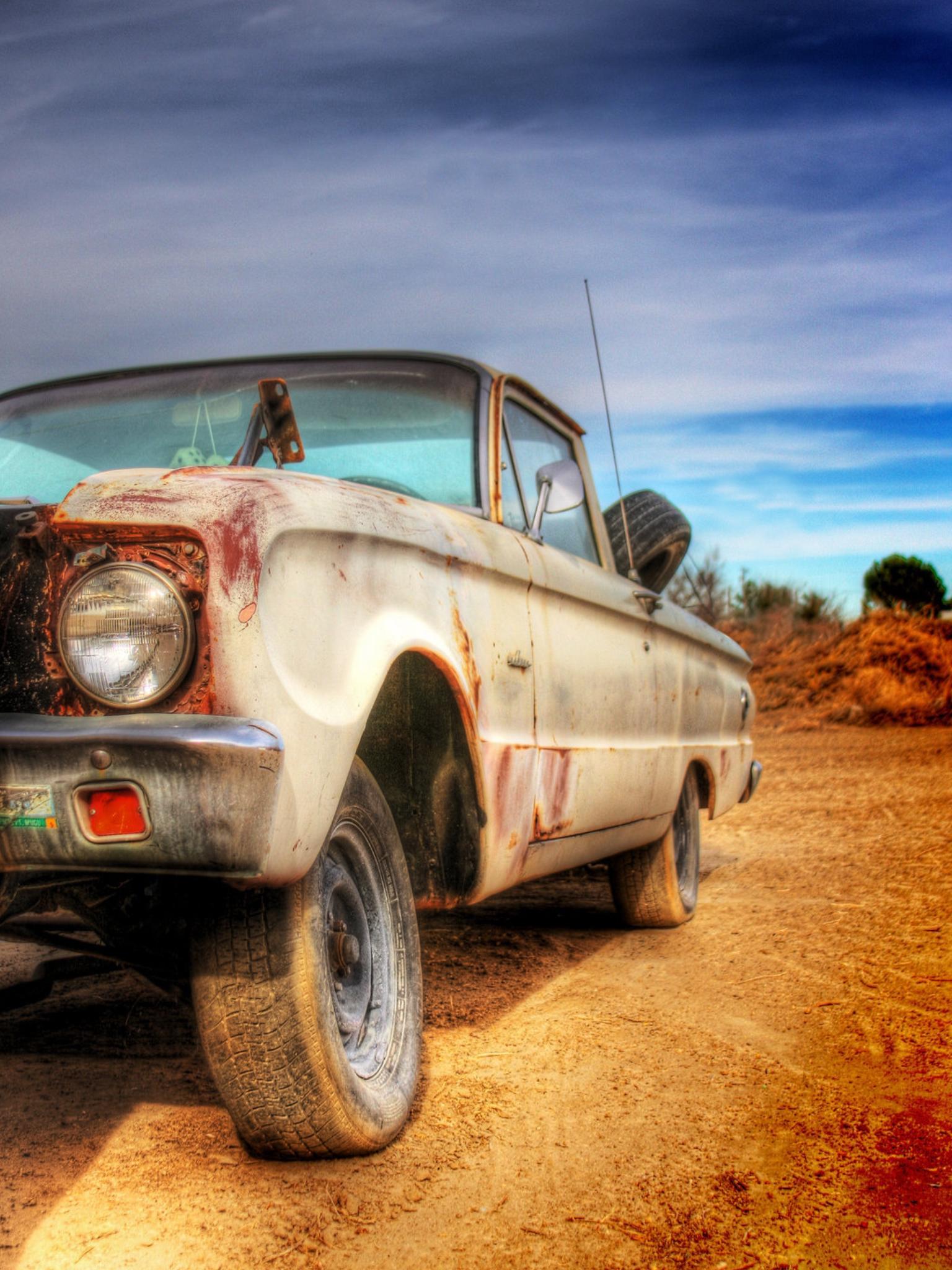 Ranchero 1. The old ranchero project car in my backyard. Source ...