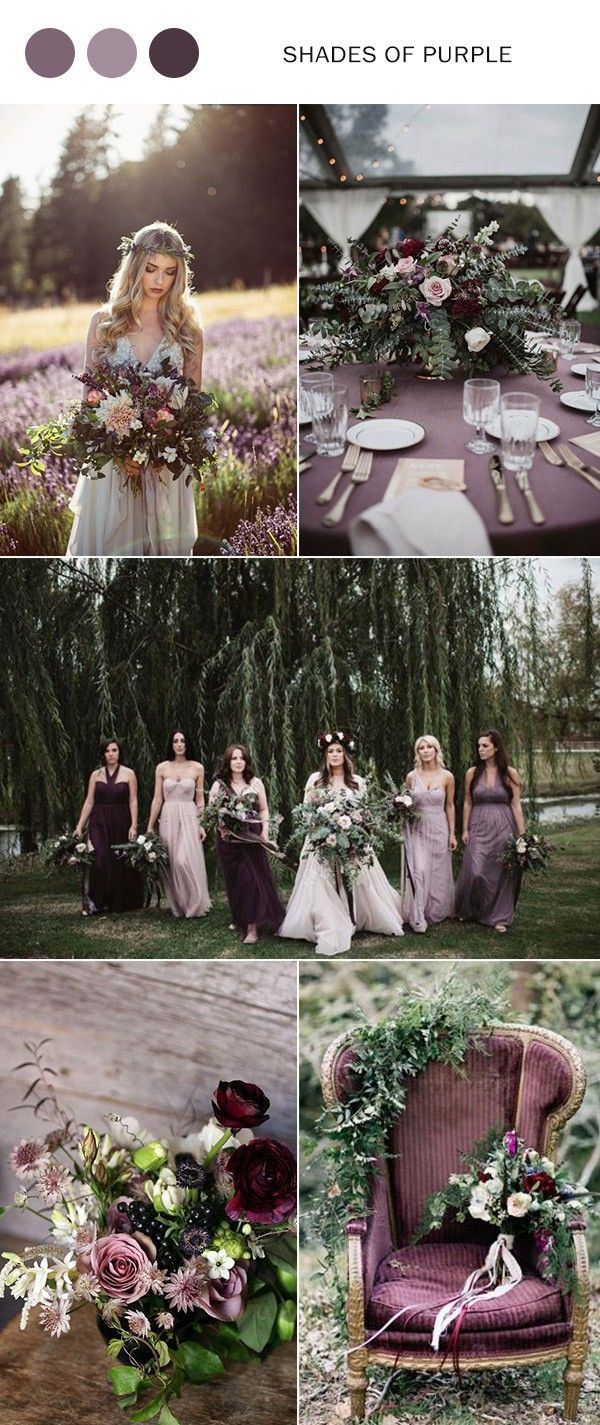 Wedding decorations 2019  Top  Wedding Color Ideas for  Trends  New wedding  Pinterest