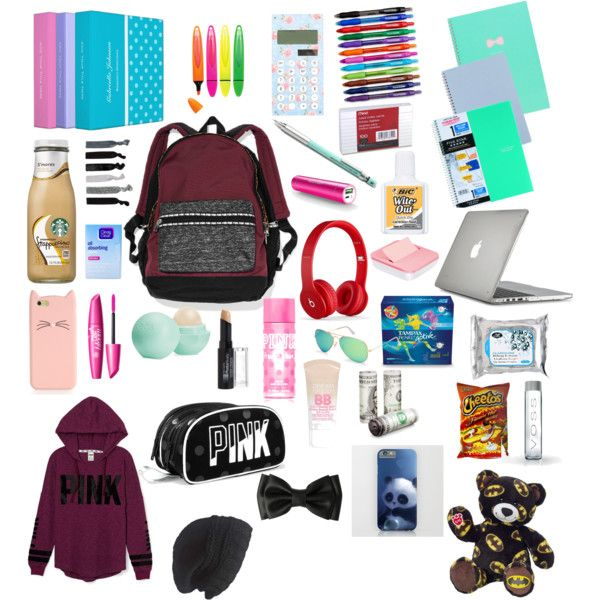 Whats In My Backpack School Kit