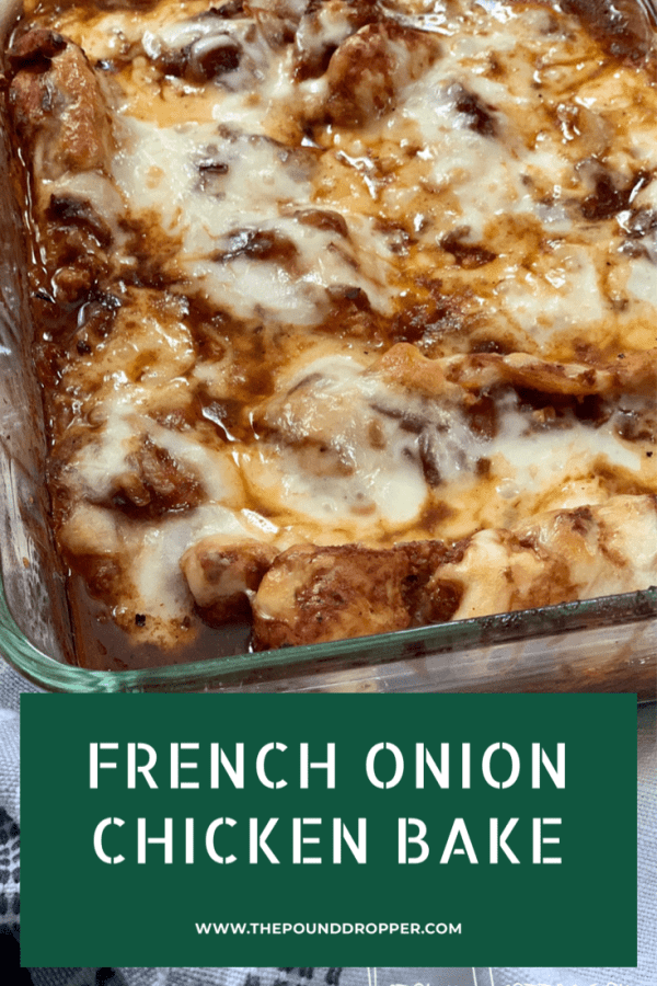 French Onion Chicken Bake