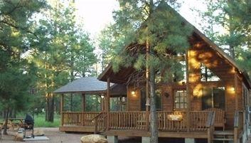 Mogollon Resort Cabins Heber Overgaard Arizona Travel
