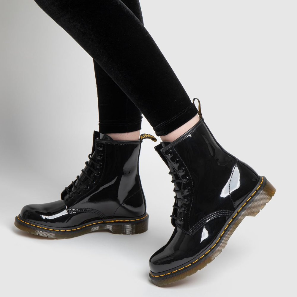 Dr Martens 1460 8 Eye Patent Boots