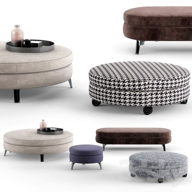 Minotti Denny Ottomans Furniture 家具 In 2019 Ottoman