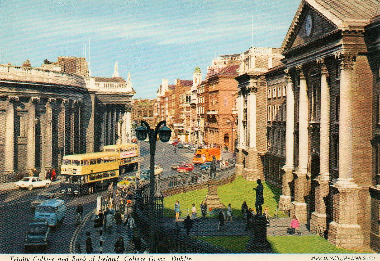 Glorious john hinde postcards of dublin c1970 images of