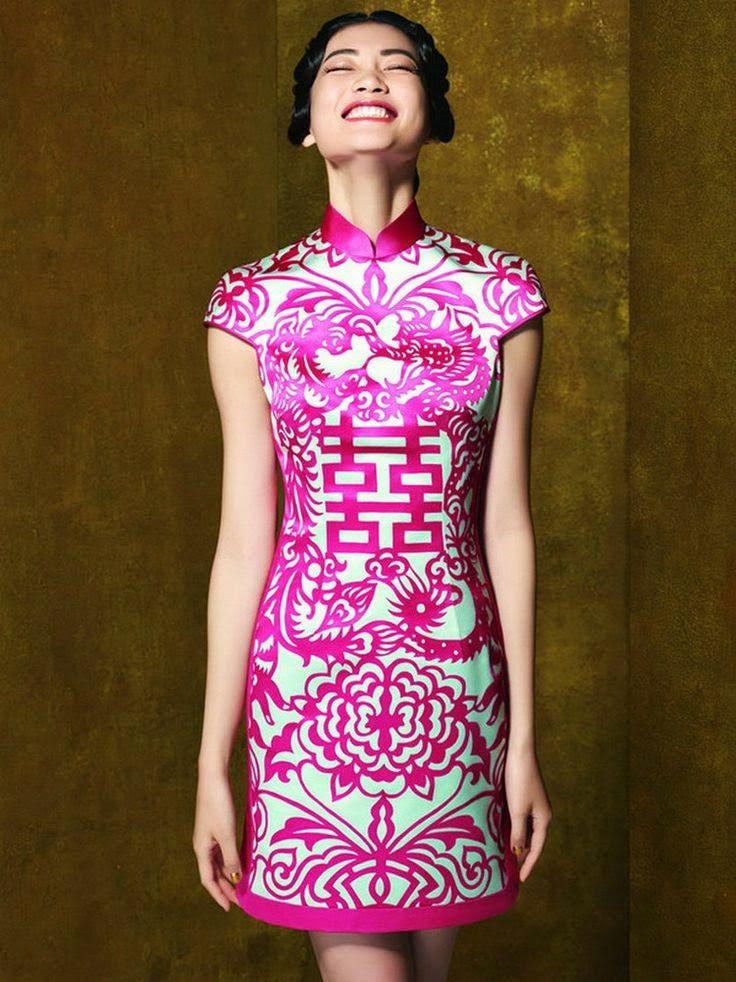 Chinese Qipao Wedding Dress | Qipao | Pinterest | Vestiditos, China ...