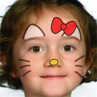 Maquillage Hello Kitty Halloween Fun Hello Kitty Face Painting