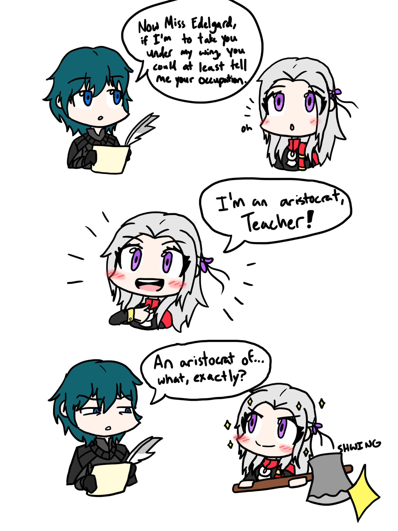 Byleth Edelgard Fire Emblem Three Houses With Images New