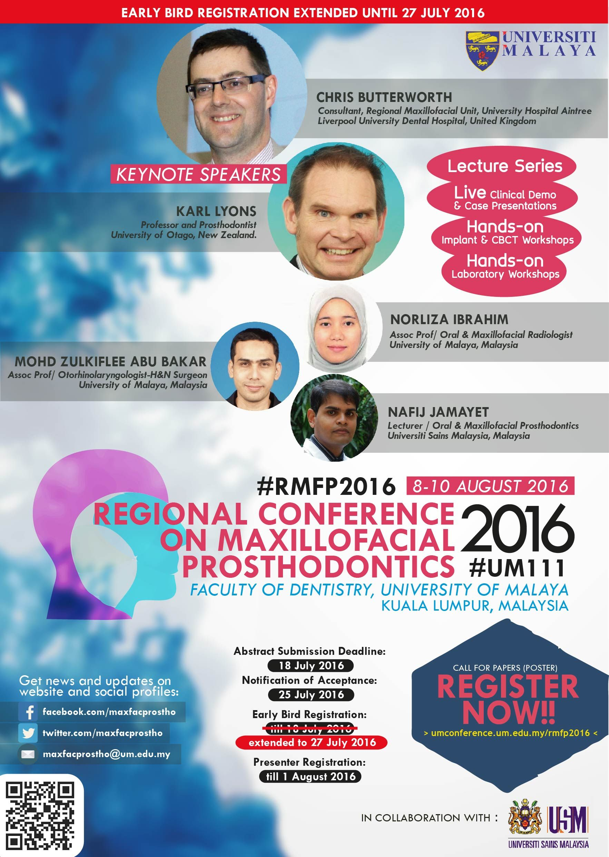 Regional Conference on Maxillofacial Prosthodontics