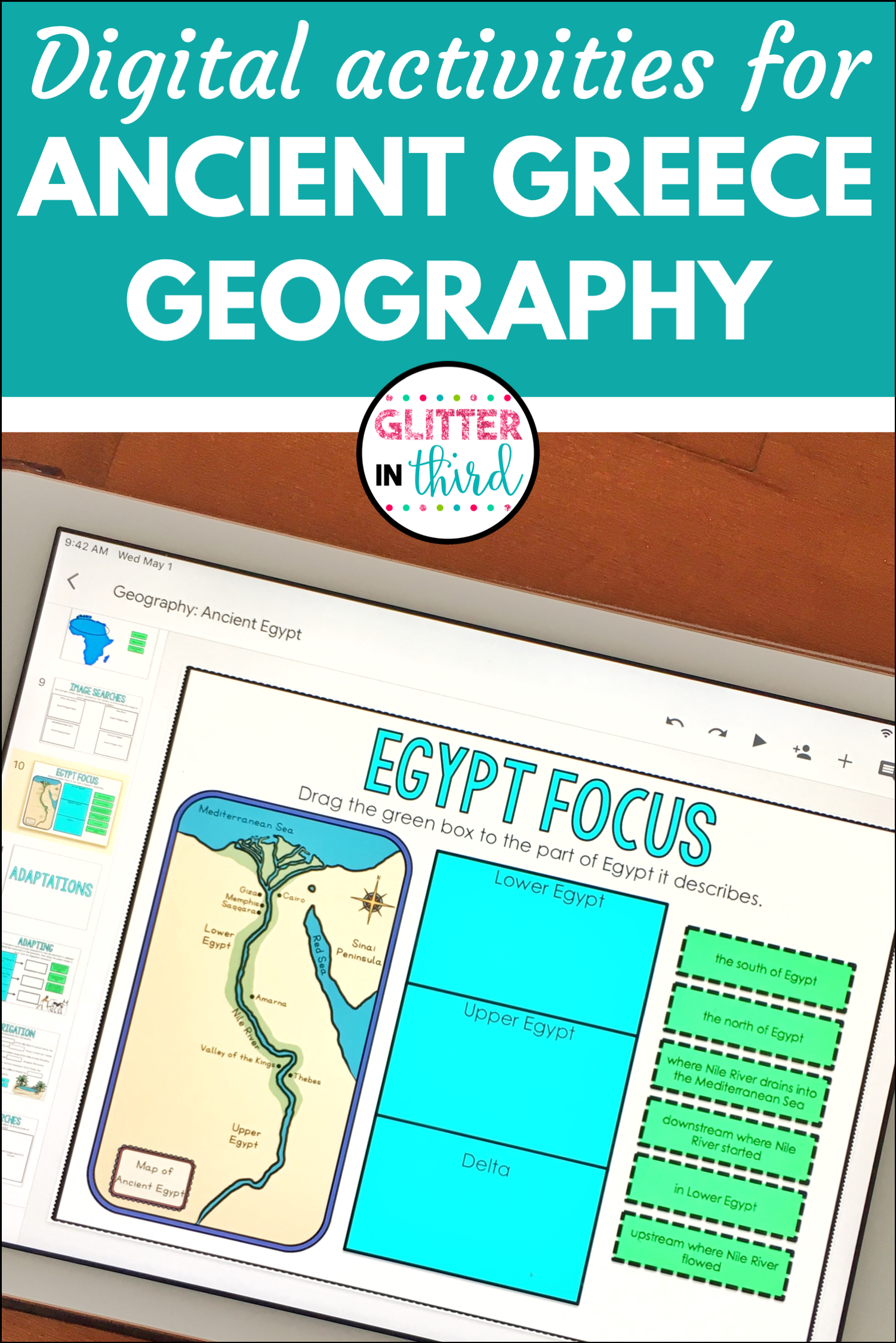 Ancient Greece Geography For Classroom Distance