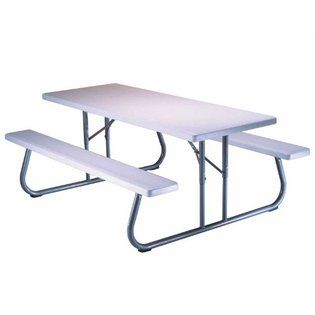 Folding Picnic Tableslifetime 6 Foot Folding Picnic Table With