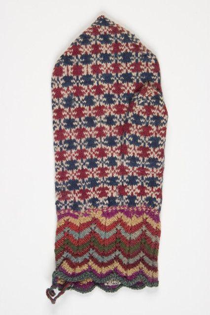 Old mitten pattern from Estonia
