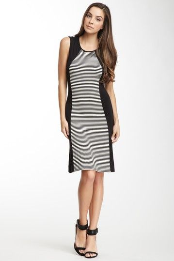 Sleeveless Contoured Dress by Go Couture on @HauteLook