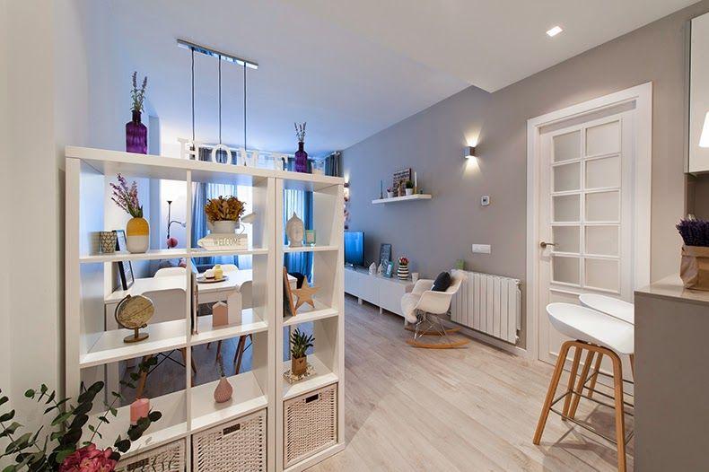 Visitamos una casa real en Barcelona Divider, Living rooms and