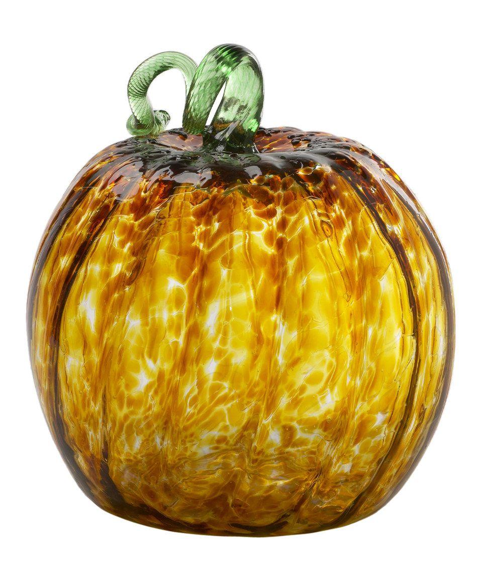 Look at this zulilyfind 10 amber round pumpkin by