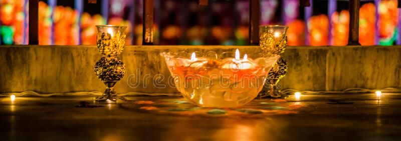 Happy Diwali – Colorful Clay Diya Lamps Lit During Diwali Celebration Stock Photo – Image of auspicious, festive: 181391194