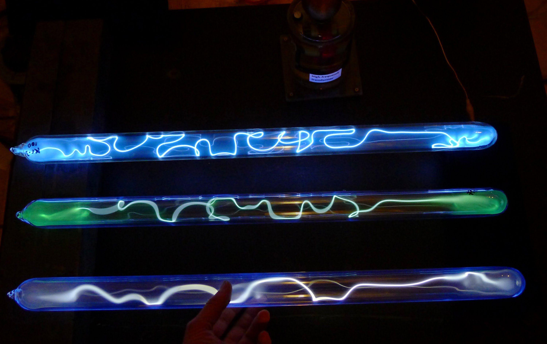 Discharge Tubes With Krypton Krypton Iodine And Xenon Tube Iodine Plasma