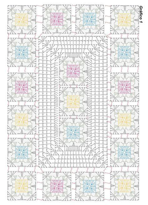 grafico1_tapete.jpg 800×1,108픽셀 | dollys | Pinterest | Manta ...