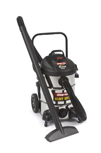 12 Gallon Stainless Steel Wet Dry Vacuum On Cart At Menards 129 00 Wet Dry Vacuum Vacuums Menards