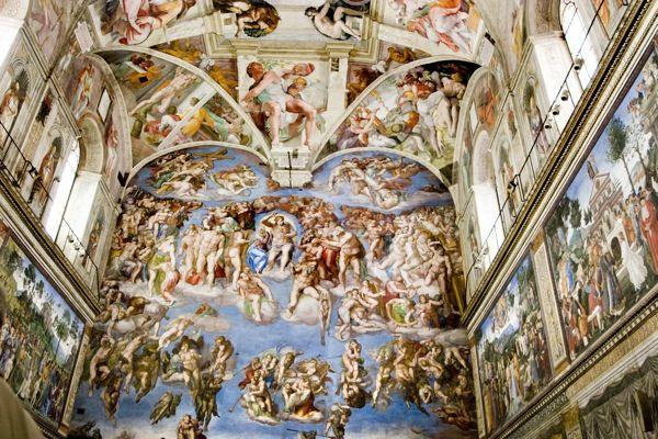 Dois Mestres na Corte Papal: Raphael e Michelangelo no Vaticano | Visita guiada em Roma | Select Italy