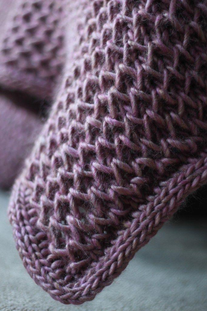 Easy Baby Blanket Knitting Patterns | Stricken, Schön stricken und ...