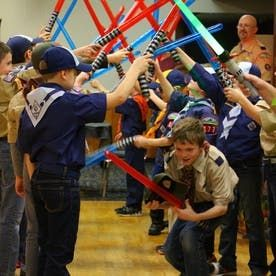 Twenty Cub Scout Skits #cubscouts