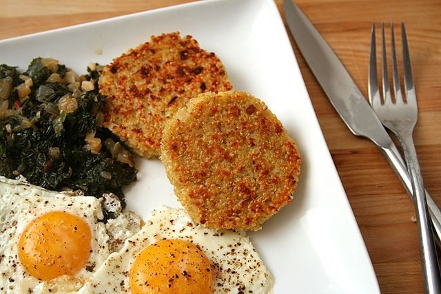 quinoa cakes 5 by crumblycookie, via Flickr