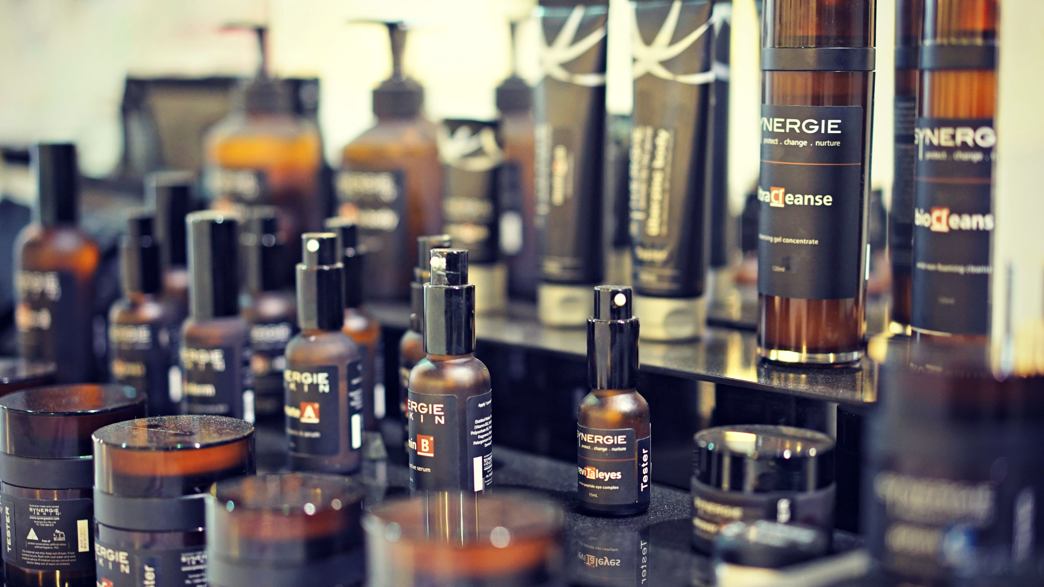 Check out our range of Synergie Skin products at the FRC.