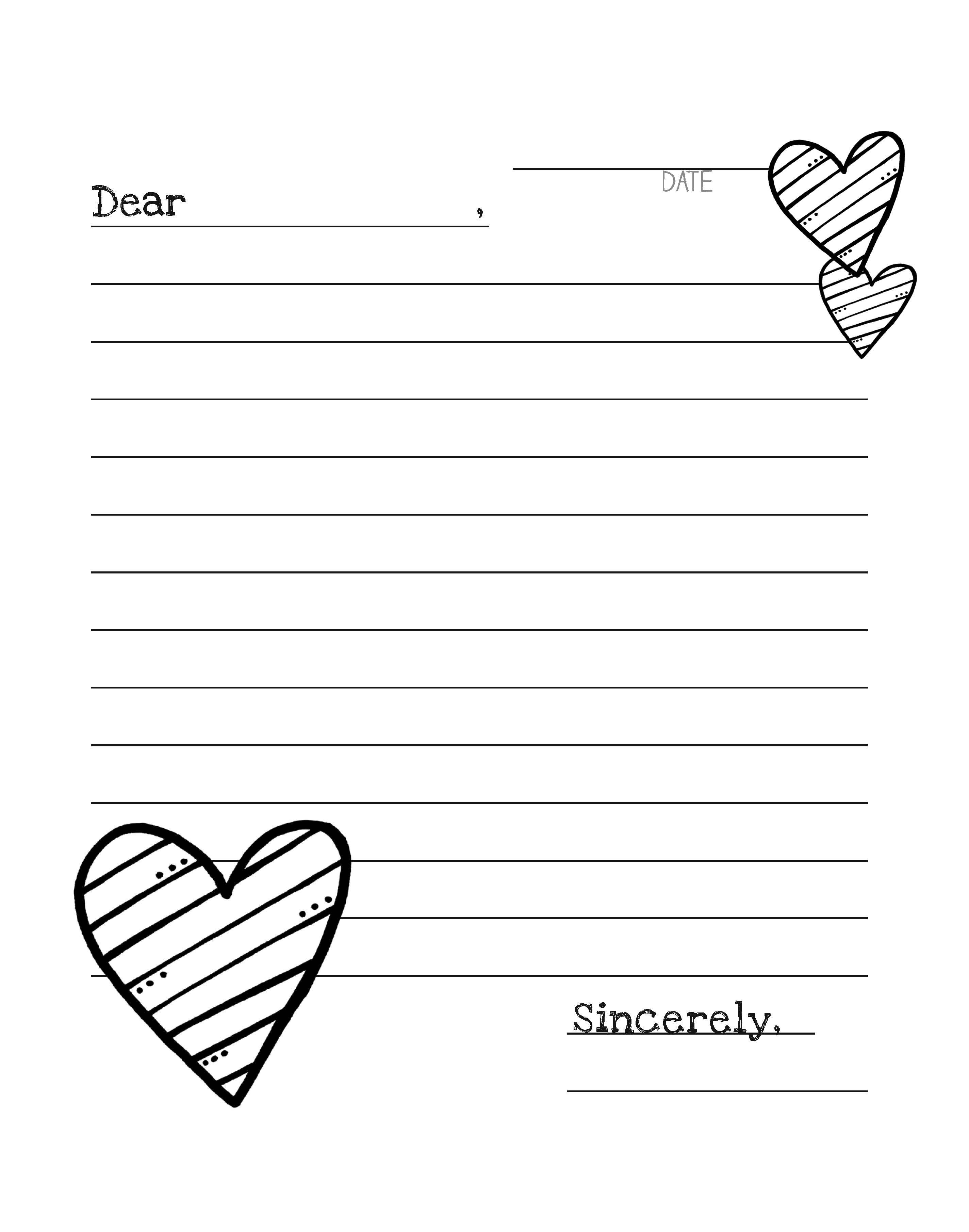 Letter Writing Bundle