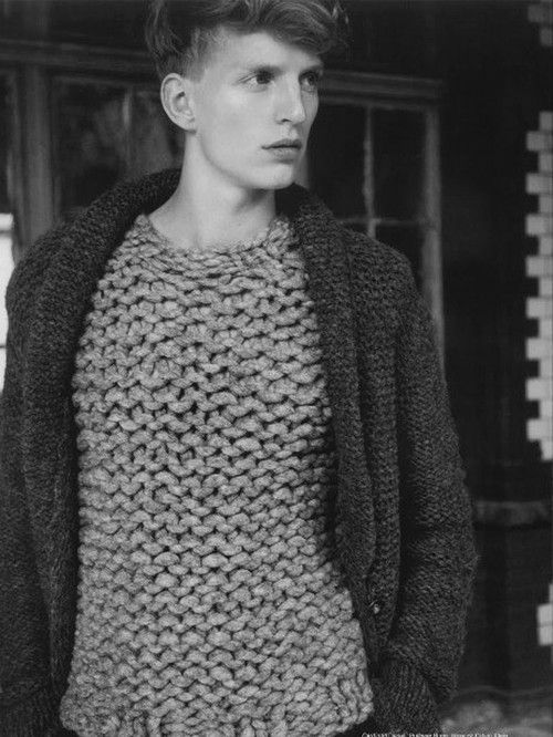 i would do him in this sweater without the vest
