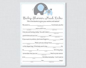Little Pumpkin Baby Shower Mad Libs Printable - Baby Shower Advice ...