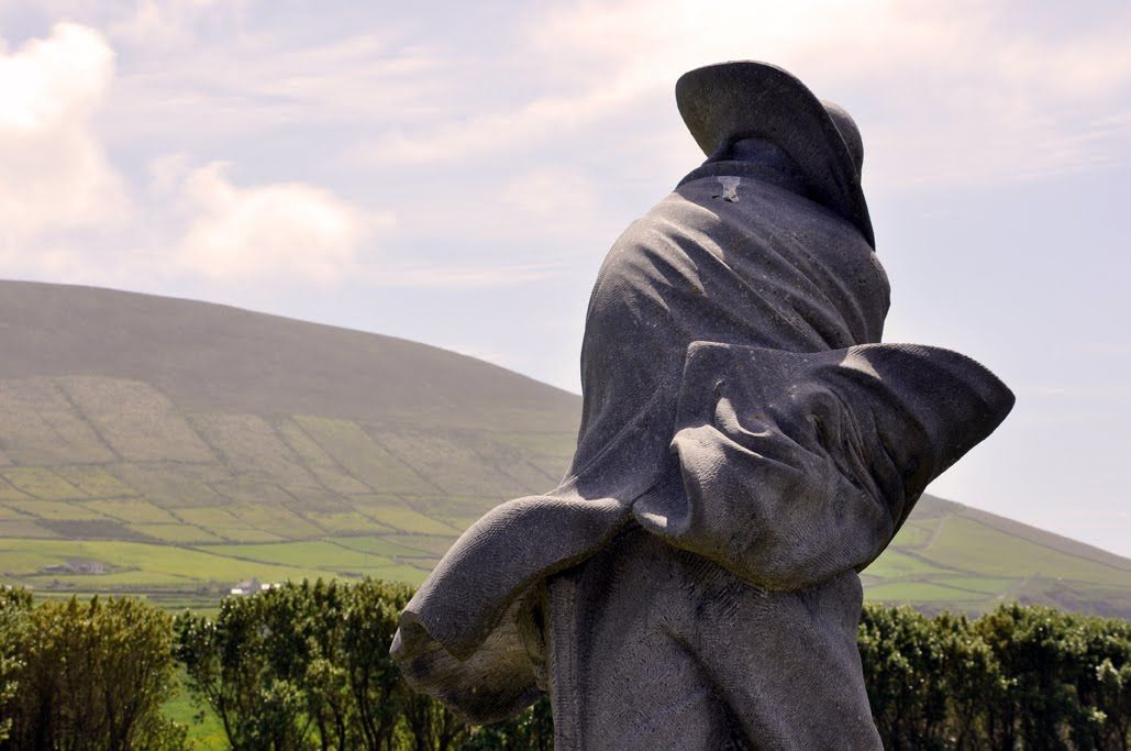 Islander Statue, Blasket Island Centre, Dingle Peninsula.