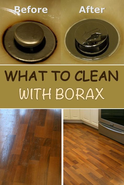 What To Clean With Borax Clean Sink With Borax Pinterest House