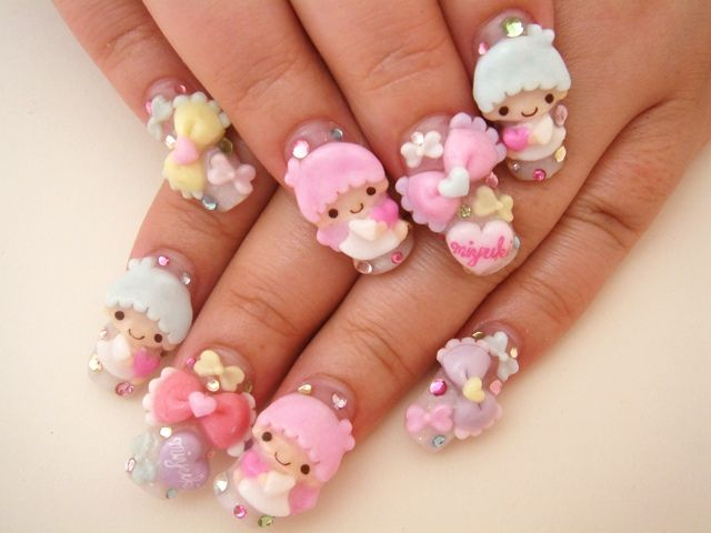 Japanese Nail Art Inspiration | The Model Stage Blog | nails ...